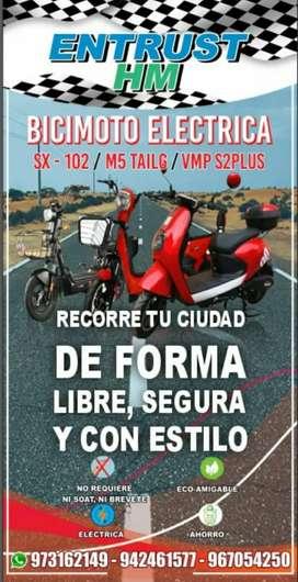 BiciMotos y motos eléctricas