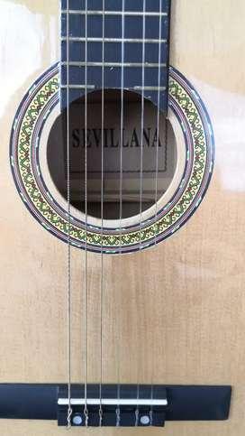 "Guitarra clásica "" SEVILLANA"""
