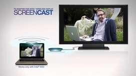 Adaptador wifi para TV /ScreenCast / Intel WiDi