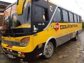 Alquiler de bus Escolar e Institucional para 40 pasajeros