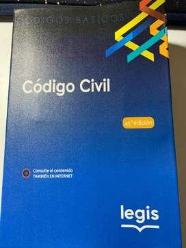 CÓDIGO CIVIL LEGIS 2021