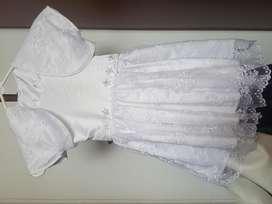 Vestidos de Bautizo Niñas T4 Y T8