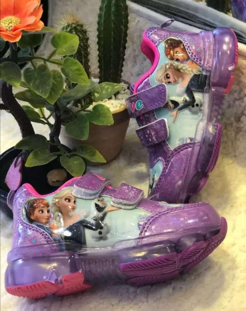 Zapatos de luces niña y niño 0