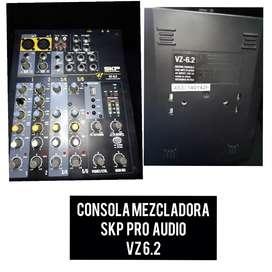 Consola  mezcladora