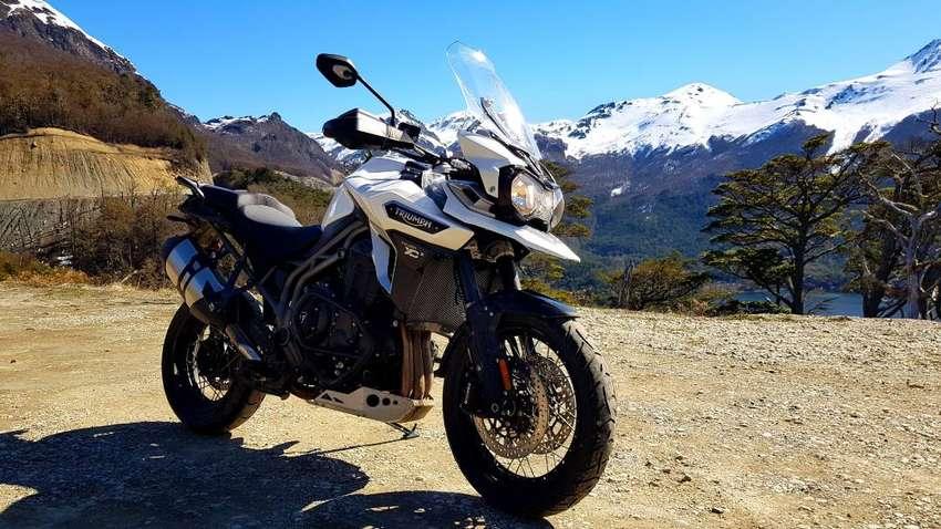 Moto - Triumph explorer XCX 1200cc 0
