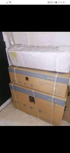 Vendo aire acondicionado marca mabe de 12 mil Btu A110 con acceso a wifi 10 año de garantía domicilio