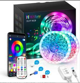 Led RGB 20 metros Bluetooth