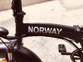 Bicicleta Electrica Plegable Norway