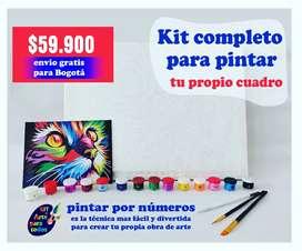 Kit para pintar por numeros