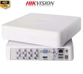 DVR MINI 8 CANALES 1080P HIKVISION TURBO HD SKU: DS-7108HQHI-K1