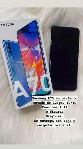 Samsung A70 dual SIM 128gb en perfecto estado  10/10