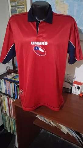 Camiseta selección de Chile.