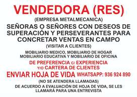 VENDERDORA (RES) DE MOBILIARIOS DE METAL
