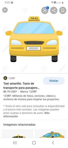 Necesito conductor de taxi