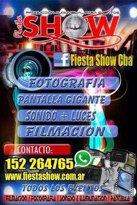 DJ SONIDO E ILUMINACION ,pantalla