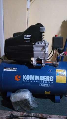 Compresor kommberg 50lt 2.5hp