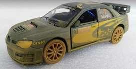 Subaru Impresa WRC 2007 Rally, Escala 1:32, 12 Centímetros de Largo, Metálico