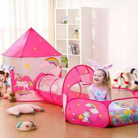 Túnel  Carpa Castillo para Niños Infantil