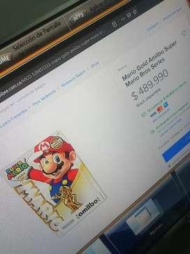Amiibo Mario Gold edición limitada