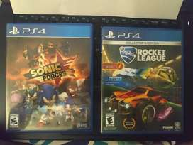 Juegos PS4 usados