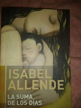 Vendo libro de Isabel Allende