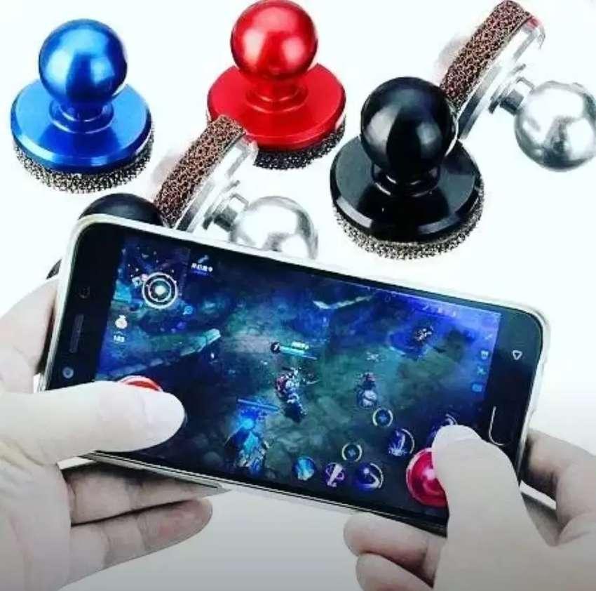 2 Mini Joystick para jugar en celular- tablet - etc 0