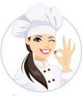 Nesesito cocinera ágil y con conocimiento de cocina medios y avanzados para comida basada en ensaladas. Medio tiempo