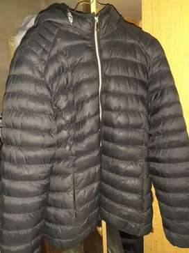 Campera inflable negra 6xl mujer