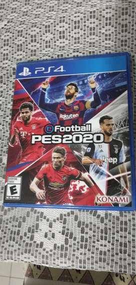 PES 2020 video juego