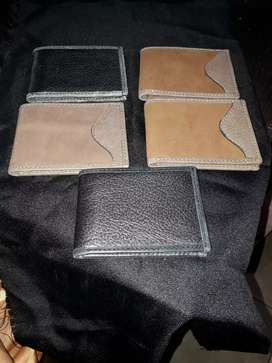 Vendo billeteras de cuero