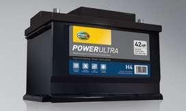 Baterías Hella 18m de Garantía / Libre Mantenimiento