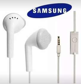 Audífonos  Samsung original J3,J4,J5,J7 J8 producto nuevo.