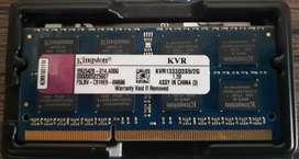Memoria Ram 2 Gb KVR1333 S3S9 Kingston 1.5V