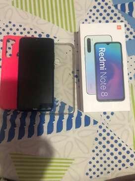 Se vende xiaomi note 8 como nuevo se entrega con caja factura dos forros