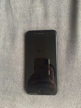 Iphone 7 plus 128gb jet black poco uso con todo