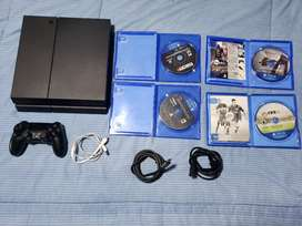 Play Station 4 (Normal 500 Gb) NEGOCIABLE