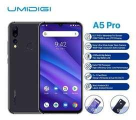Umidigi A5 Pro Android 9.0 Smartphone Desbloqueado 6.3 4g
