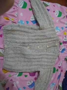 Campera de lana súper abrigada de bebé