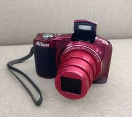 Cámara Nikon L620