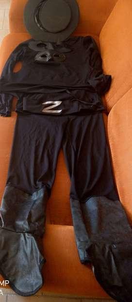 HERMOSO DISFRAZ DEL ZORRO DE FANTASTIC NIGHT