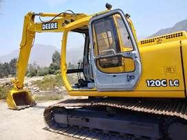 Vendo excavadora Jhon Deere