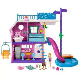 Oferta Polly Pocket Casa Del Lago De Polly Original Mattel