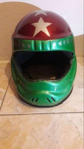 vendo casco integral tradicional