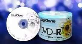 Vendo pack de 50 dvd 500 $