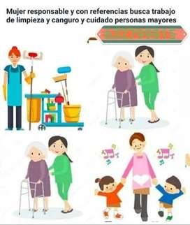 Profesional de la salud para el cuido de adultos mayores o niños 7x24 en sitio.