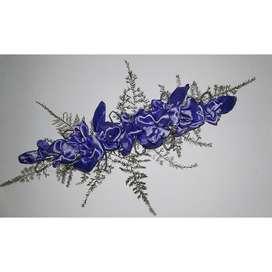 Tiara color lila
