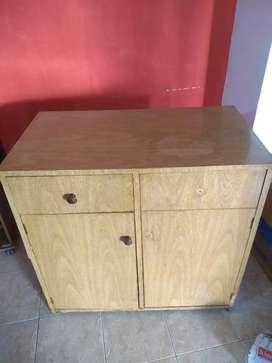 Mueble cajón y estantes