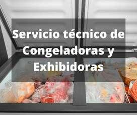 Reparación de congeladoras, exhibidoras , visicooler en San Miguel Lima- Técnico de congeladoras, exhibidoras San Miguel