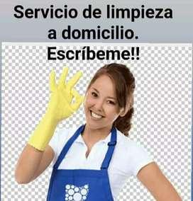 Ofrezco mi servicio de aseo general y cocina colombiana y árabe