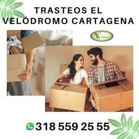 Trasteos Velódromo Cartagena, Bolivar